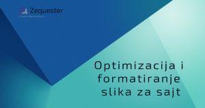 Optimizacija i formatiranje slika za sajt